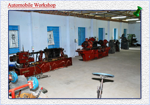 automobile work shop