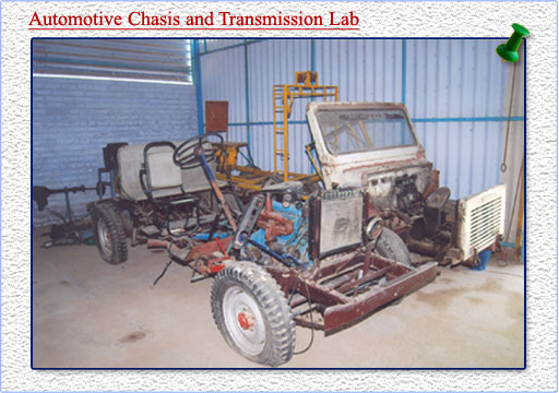 automotive chasis lab