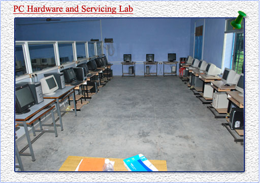 hardware and servicing lab