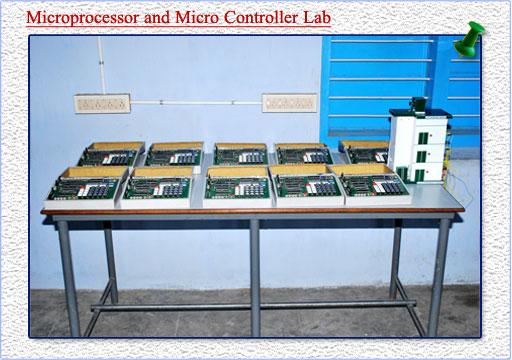 micro processor and micro controller lab