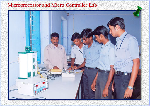 microprocessor and micro controller lab